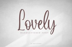 Lovely Script Product Image 1