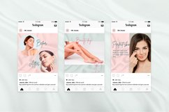 """Instagram posts & quotes, Canva Template """"BEAUTY SILK"""" Product Image 5"""