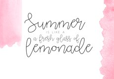 Pink Lemonade - Script Font Product Image 3