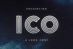 Ico - Logo Font Product Image 1