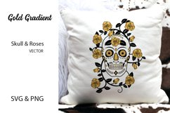 Skull & Roses Vector Designs- SVG & PNG Product Image 2