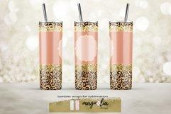 leopard glitter tumbler wrap png 20 oz tumbler bundle Product Image 4
