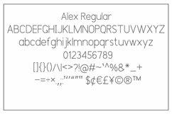 Alex Font Trio Product Image 9