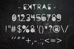 Caught Font for Halloween Cobweb Font Halloween Font OTF TTF Product Image 3