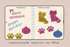 Digital Stickers Glitter for Holidays Product Image 2
