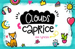 Clouds Caprice Typeface Product Image 1