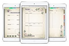Daily Planner Goodnotes Undated, Hyperlinked,Xodo Product Image 4