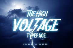 HIGH VOLTAGE Typeface Product Image 1