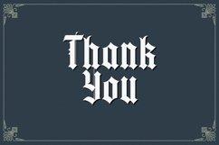 Yugitoy - Blackletter Font Product Image 5