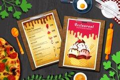 Ice Cream Restaurant Menu Flyer Product Image 3