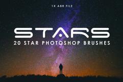 20 Star Photoshop Brushes Product Image 1
