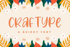 Craftype - Playful Display Font Product Image 1
