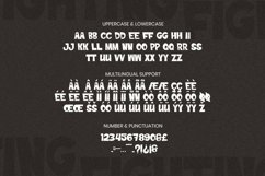 Web Font Fighting Font Product Image 5