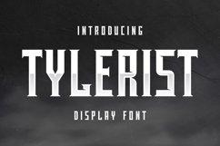 Tylerist Font Product Image 1