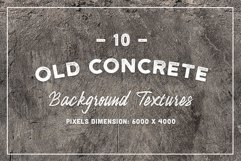10 Old Concrete Background Textures Product Image 1