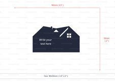 Real estate business card template cutting file Product Image 4