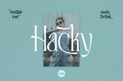 Hacky - Luxury Serif Family Product Image 1