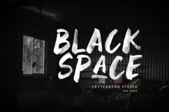Black Space SVG Font Product Image 1