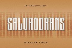 Salvadorans Font Product Image 5