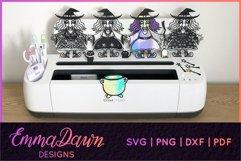 WENDY THE WITCH SVG MINI BUNDLE MANDALA ZENTANGLE DESIGN Product Image 5