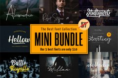 Mini Bundle | The Best Signature Calligraphy Font Product Image 1