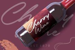 Heatwood An Elegant Signature Font Product Image 3
