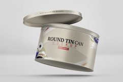 Round Tin Can Mockup Product Image 5