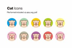 Cat 10 Icons Product Image 1