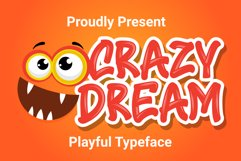 Crazy Dream - Funny Font Product Image 1