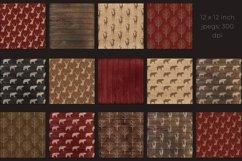 Christmas lumberjack digital paper Product Image 2