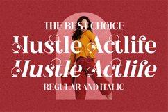 Hustle Actlife - Beautiful Serif Font Product Image 18