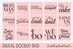 Wedding Bundle SVG files for Silhouette & Cricut Product Image 3