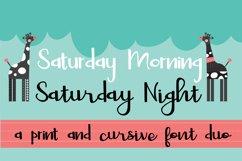 PN Saturday Font Duo Product Image 1