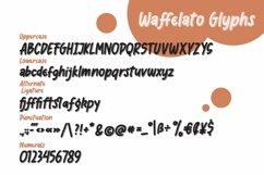 Web Font Waffelato - Inspired Font Product Image 3