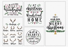!! HUGE !! Christmas Sign Making Bundle Product Image 4
