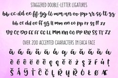 Tingler font duo - ligatures and accented characters