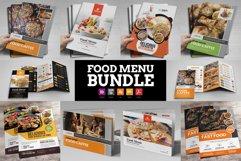 Food Menu Restaurant Brochure Bundle Product Image 1