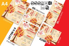 Autumn Fall Flyer Template Vol-03 Product Image 2