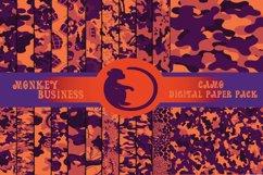 Purple and orange digital paper pack Product Image 1
