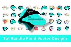 SET BUNDLE VECTOR FLUID DESIGN Product Image 1
