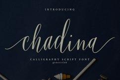 Chadina Script Product Image 1