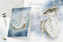 Magic Winter Watercolors. SALE! Product Image 2