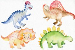 Watercolor Dinosaurs. Kit. Product Image 3