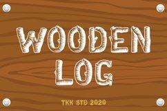 Wooden Log - Kids Font Product Image 1