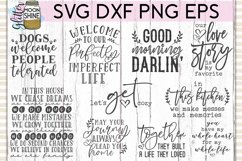 Rustic Home Bundle of 42 SVG DXF PNG EPS Cutting Files Product Image 3