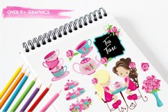 Tea Time graphics and illustrations Product Image 3
