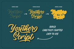 Youther Script - Layered Font Duo Product Image 4