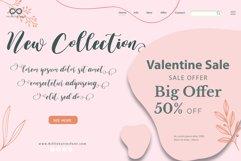 Valentine Sweet - WEB FONT Product Image 3