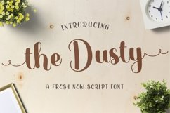 Web Font The Dust Product Image 1
