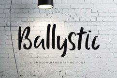 Ballystic Handwriting Typeface Product Image 1